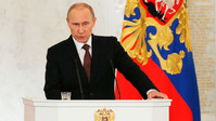 Russia absorbs Crimea as Putin has dig at West