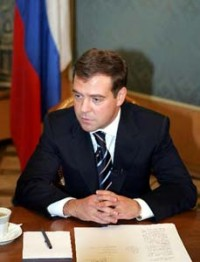 Putin, United Russia back Medvedev for president