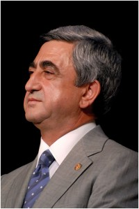 PM Sarkisian wins Armenian presidential poll in first round