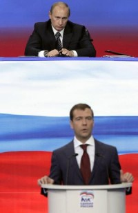 COMMENT: Russia's Presidium has first meeting - Happy Mondays