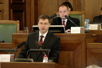 INTERVIEW: Dombrovskis' year of living dangerously