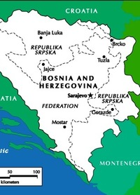 Bosnia between a rock and a hard place
