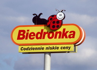 Biedronka's ladybugs swarm over Poland