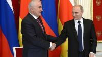 South Ossetian leader plans referendum on joining Russia