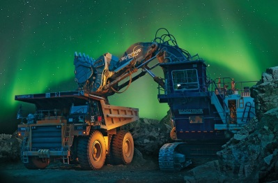 Norther lights dump truck Apatit4.jpg bneCompany Russia Phosagro factories fertlizers COMPANYPICS 10