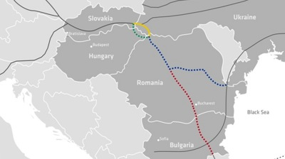 Slovakia's planned gas link to Balkans reportedly set to take Ukrainian diversion