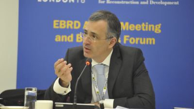 Political instability and China are the main risks to growth, says EBRD's Guriev