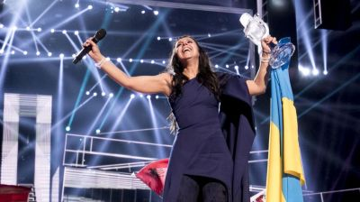 Ukraine upstages Russia in 'political' Eurovision final