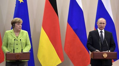 Putin and Merkel discuss Syria and Ukraine at Sochi talks