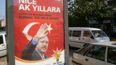 Turkey's opposition creating coalition at parliamentary election