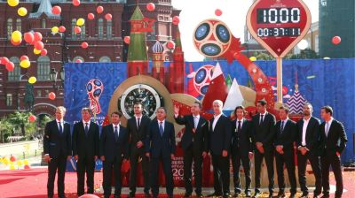 Spotlight trained on Russia for 2018 World Cup dress rehearsal