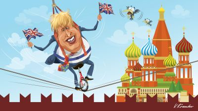 MOSCOW BLOG: Kremlin ready to roll out the red carpet for Bojo's flying circus