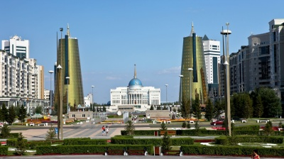 Astana claims population tops 1mn in time for Kazakh president's birthday