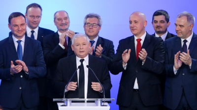 PiS on track for majority in Polish parliament after historic win