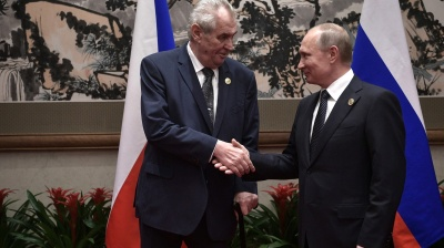 "Zeman's Crimea ""fait accompli"" remarks focus minds on Moscow factor in Czech election"