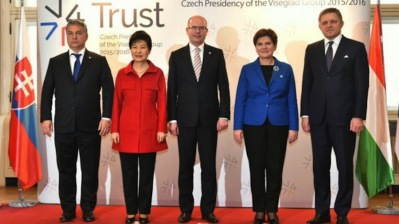 Visegrad Four rebuilds unity on migration and Brexit