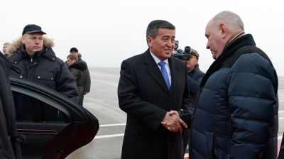 New Kyrgyz president affirms Kyrgyzstan's allegiance to Russia