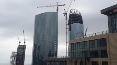 No longer building in Baku