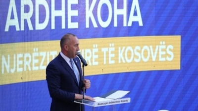 Coalition of ex-KLA parties wins Kosovo's early general election