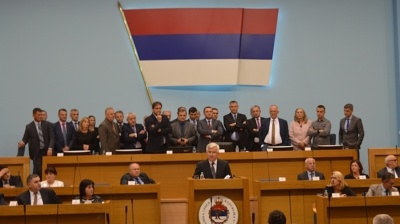 Police shut opposition MPs out of parliament in Bosnia's Republika Srpska