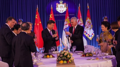 China starts construction of cultural centre in Serbia on former embassy site bombed by Nato
