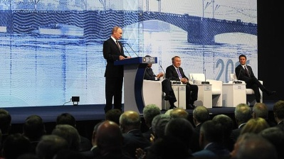 Putin lays out ambitious reforms in St Petersburg keynote speech
