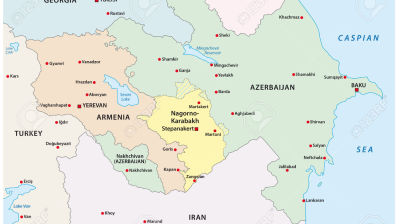 Heavy fighting breaks out between Azerbaijan and Armenian separatists in Nagorno-Karabakh