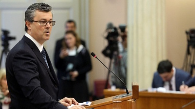 Croatian Deputy PM Karamarko resigns ahead of confidence vote in PM Oreskovic