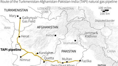 Taliban pledge protection as construction starts on Afghan part of TAPI pipeline