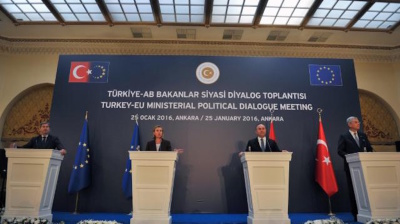 EU pressures Turkey to end war with Kurds but Erdogan has reported Oct referendum in his sights