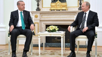 Erdogan, Putin agree to warm ties in first phone call since jet downing