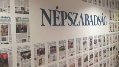 Newspaper's sudden shutdown raises fears over Hungarian press freedom