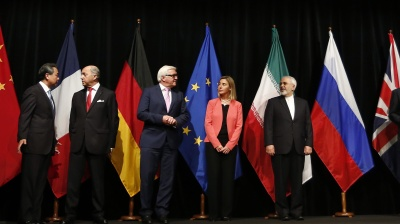 European powers urge Trump not to press Iran nuclear deal destruction button