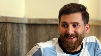 """Iranian Messi"" lookalike fully booked for interviews, lands modelling deals"