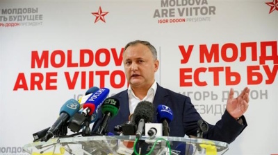 Moldova's pro-Russian president takes first steps in new orientation