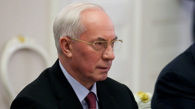 Ukraine chief law enforcement agency said to call ex-PM Azarov in for questioning