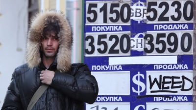 Russians and Ukrainians suffer as inflation outstrips wage growth