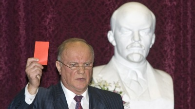 MOSCOW BLOG: Are Zyuganov's Communists getting bolshie on Putin?