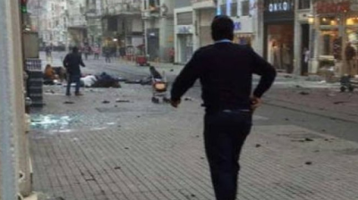 Suspected suicide bomb attack kills four in Istanbul