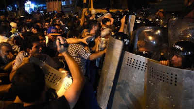 Protests in Yerevan escalate as hostage crisis enters fifth day