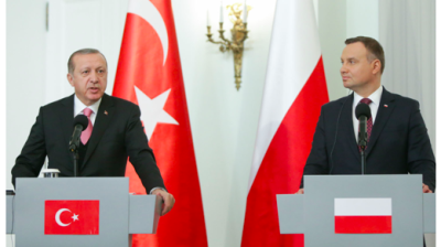 Poland supports Turkey's near-dead EU membership bid