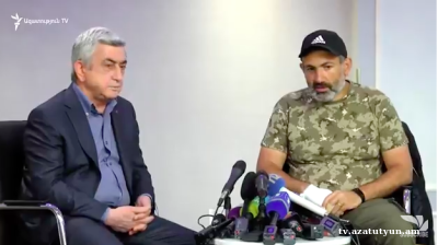 Armenian protest leader detained shortly after PM walks out of crisis meeting