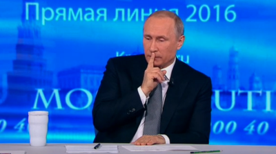 Putin tells Russians on TV call-in show: go on holiday here, vote for my party