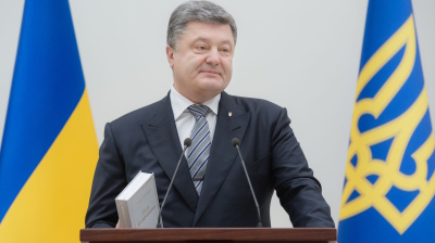 "Ukraine president seeks to avoid ""chaos and anarchy"" as his ratings fall"