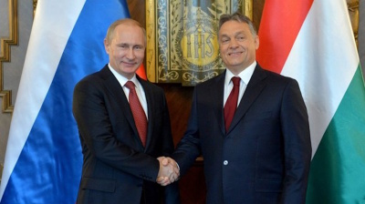 VISEGRAD: Orban and Putin give little away in cautious presser