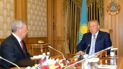 Dismissal of president's loyal supporter as security chief marks new era in Kazakh politics