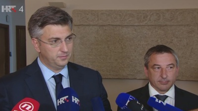 Plenkovic's government survives in Croatia as parliament approves new ministers