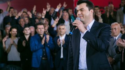 Albanian opposition to boycott general election