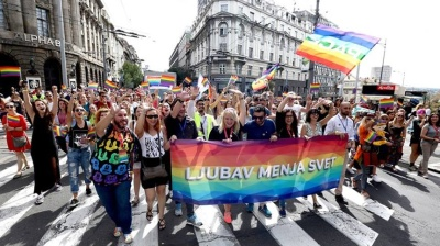 Belgrade gay pride march takes place amid heavy police presence