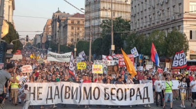 Protests persist over Belgrade Waterfront demolitions